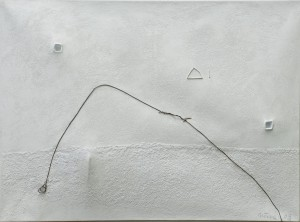 Double-espace-blanc-au-fil-de-fer,2008,55x73
